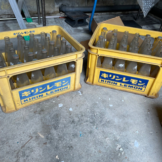 ☆値下げ☆レトロなキリンビールケース(瓶入り)