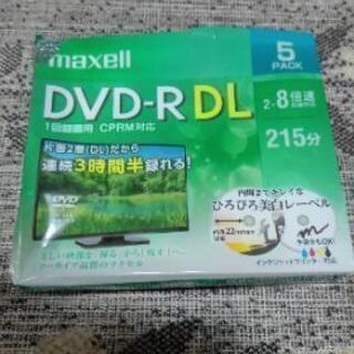 maxell DVD-R DL 5PARK 1回録画用 連続3時...