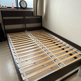 【ネット決済】IKEA ダブルベッド フレームのみ