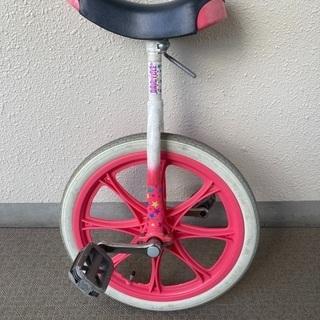 一輪車 ピンク