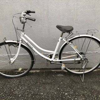 ★乗車〇★ 自転車 BEAM'SLVER 27インチ ギヤ付き ...
