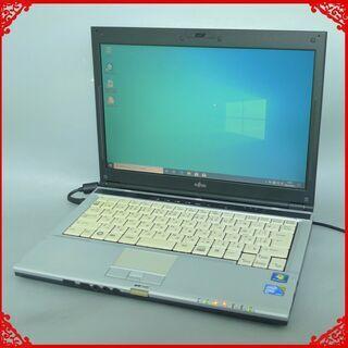 即使用可能 軽量モバイル ノートパソコン 中古美品 13.…