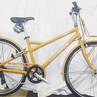 「新車」在庫1台限り。クロスバイクのご紹介⑪/LOUIS GAR...