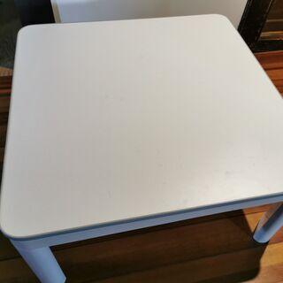 【ネット決済】【ジャンク】こたつ付きテーブル