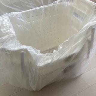 【新品未使用】カインズ 洗濯カゴ 2個セット