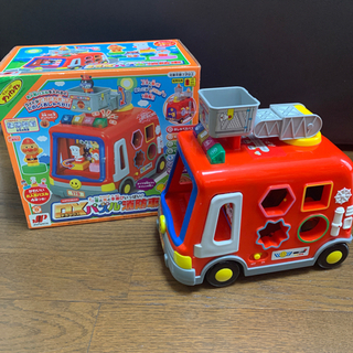アンパンマン デラックスパズル消防車 値下げしました!