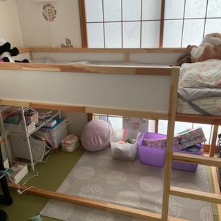 【ネット決済・配送可】IKEAロフトベッド