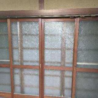 アンティーク レトロ 木戸?窓 4枚セット 茨城県取手市