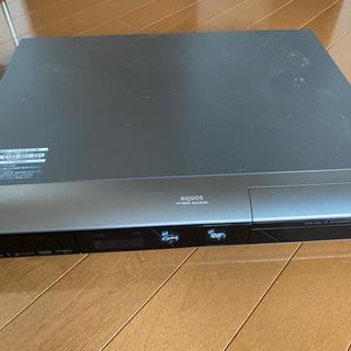 シャープAQUOS HDD、DVDレコーダー