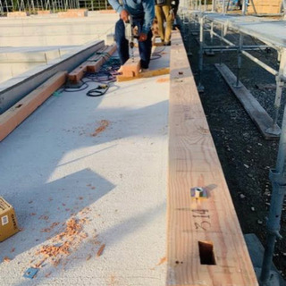豚舎の新築工事