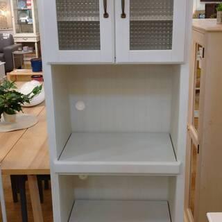 【中古品】自社配送可能 レンジボード 食器棚 ニトリ コルテ2 スリム