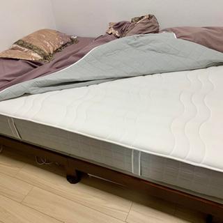 【IKEA】FOSSBYダブル スプリングマットレス 定価¥...