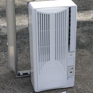 美品 18年製 コイズミ 窓用 ルームエアコン KAW-1…