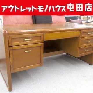 カリモク家具 両袖つきデスク 高級大型デスク karimoku ...