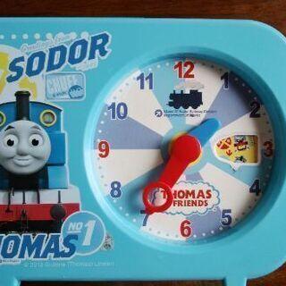トーマスおもちゃ時計