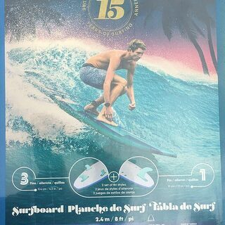 WAVESTORM 8ft サーフィン ソフトボード 新品…