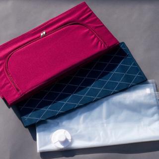 【新品】圧縮袋付き収納ボックス