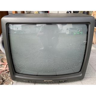 シャープ ブラウン管テレビ 1997年製 20C-M7 通電確認...