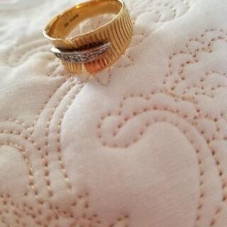 【ネット決済】18金可愛いデザイン指輪💍saleです。