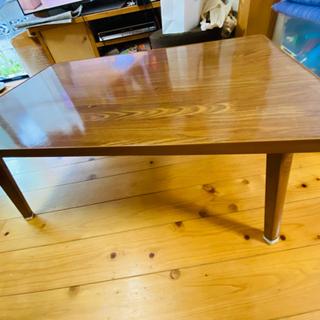 木目調ローテーブル