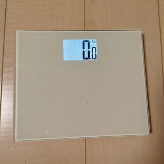【ネット決済・配送可】体重計 カラフルパレッド DM-HM03