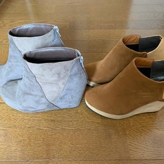 中古 靴 ヒール パンプス Lサイズ 2点セット