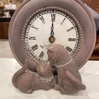 【ネット決済】猫の時計