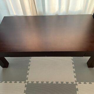 【ネット決済】ニトリ ローテーブル 幅110×奥行60×高さ38.5