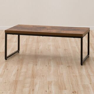 センターテーブル(ステイン 横105cm