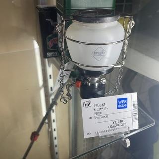 EPLGAS ガス式ランタン 程度B  マントル6枚付