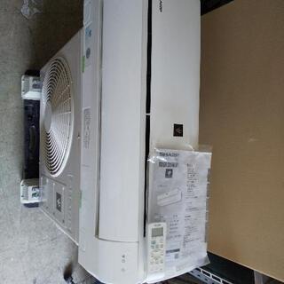 佐賀中古エアコン、シャープ2020年2.2KW6番税込工事込み - 売ります・あげます