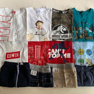 150−160   Tシャツと半ズボン