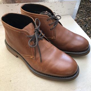 本革ブーツ  25.0    4E