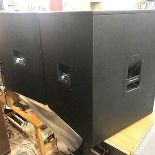 札幌近郊 送料無料 Electro-Voiceエレクトロボイス ELX118 パッシブサブウーファー 2台ペア - 空知郡