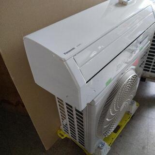 佐賀中古エアコン、パナソニック2020年2.5KW8番税込工事込み - 佐賀市