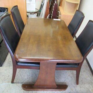 食卓テーブル (椅子4客付き)