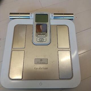 体重計、体組成計、オムロン、中古、説明書付き