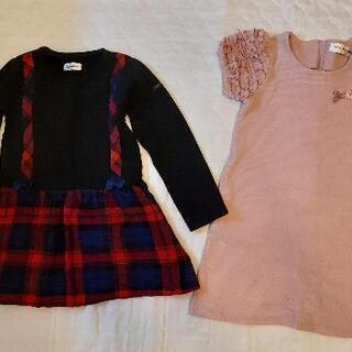 子供服ワンピース 120サイズ 冬用