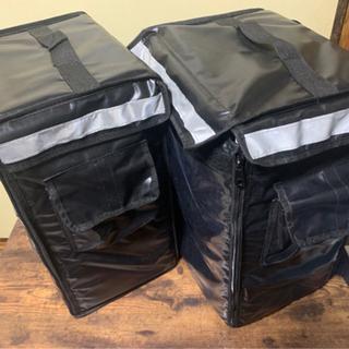 デリバリー配達バッグ42L 中古と新品セットの画像