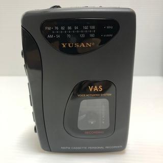 #5674 YUSAN カセットレコーダー YS-6882KA