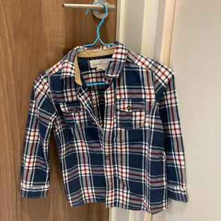 子供90サイズ チェックシャツ