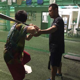 【日中もOK】野球の基礎、身体の使い方をマンツーマンで教えます