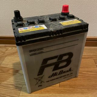 【終了】廃バッテリー K-42R ジャンク品の画像
