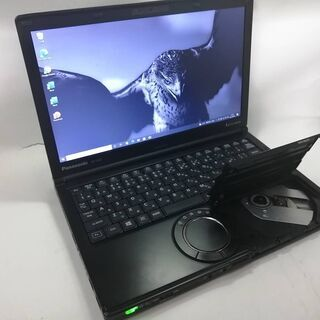 CF-SX2 高性能黒かっこいい美品 Win10 メモリ8G O...