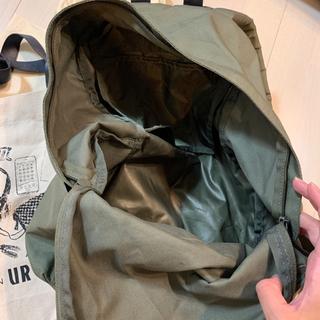 無印良品リュック+URエコバッグプレゼント - 靴/バッグ