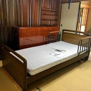 【ネット決済】【値下げ】アンネル電動リクライニングベッド1M
