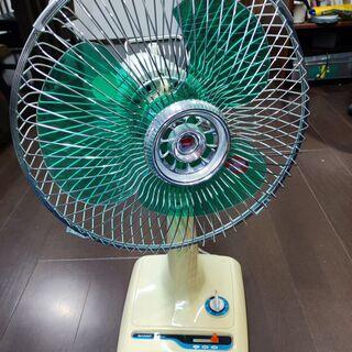 引き取り限定!美品 昭和50年製 SHARP扇風機 ※羽割れあり
