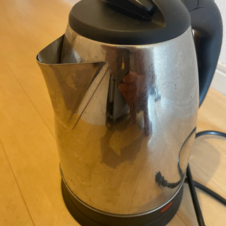湯沸ポット ステンレス製