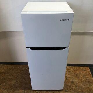 【Hisense】 ハイセンス 2ドア 冷凍 冷蔵庫 容量120...
