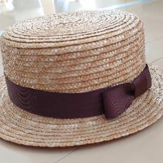 カンカン帽 レディース